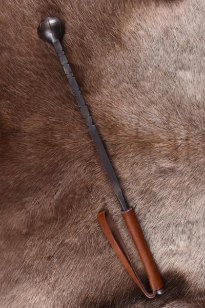 Mittelalter Streitkolben mit Ledergriff - Dekoration