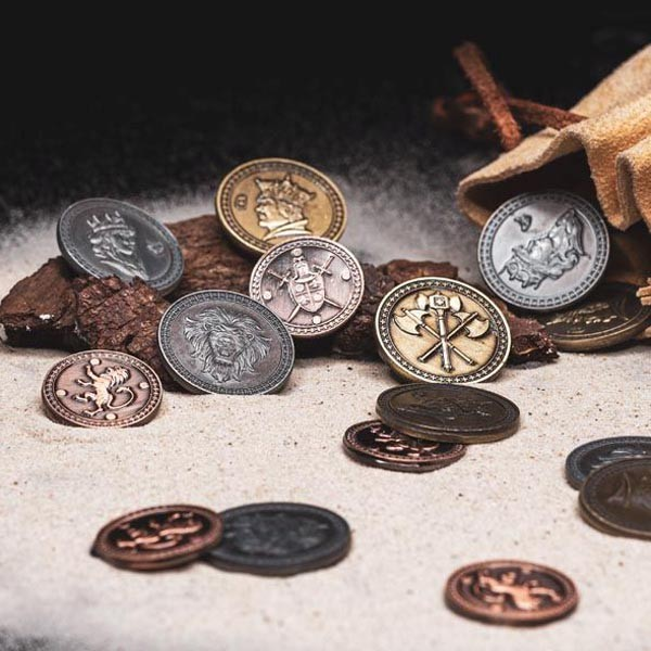 LARP Münzen Set König