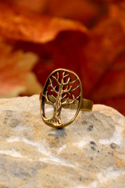 Bronzering Baum des Lebens
