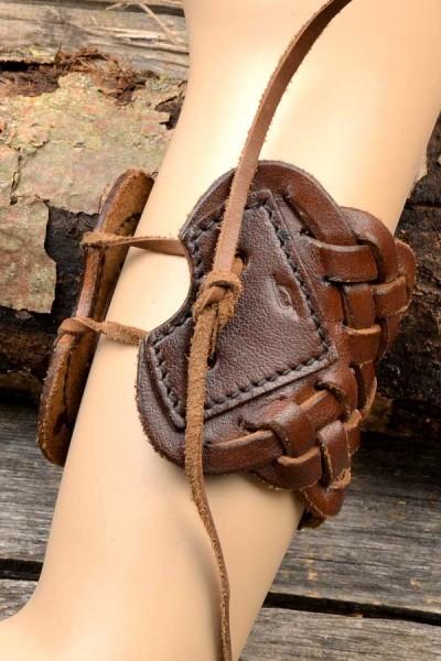 Mittelalter Armband Abenteurer aus Leder