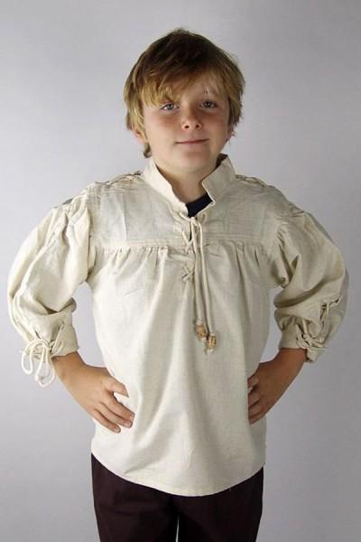Mittelalter Hemd Balduin für Kinder