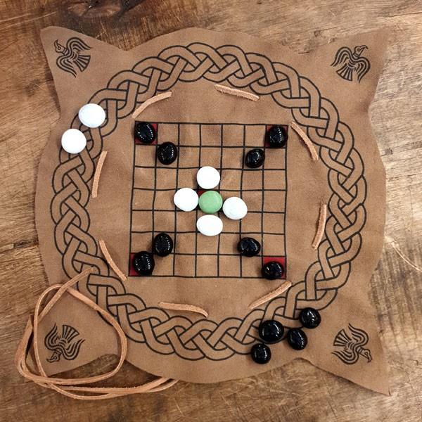 Wikinger Spiel Hnefatafl / Brandubh