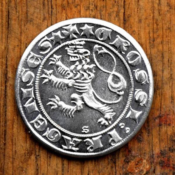 Mittelalter Münze Prager Groschen