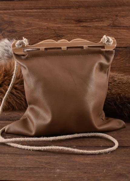 Wikinger Bügeltasche Haithabu aus Leder