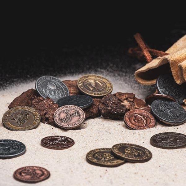 LARP Münzen Set Elfen