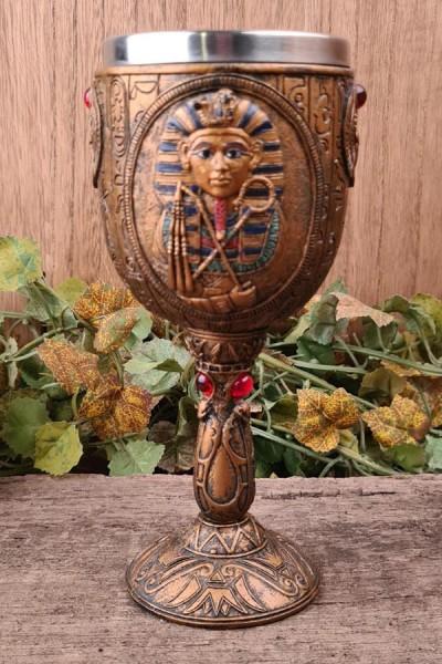 Ägyptische Kelch Tutanchamun - handbemalt