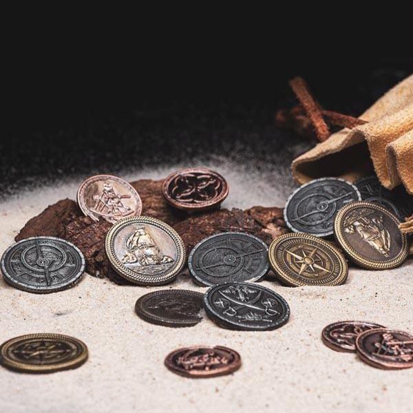 LARP Münzen Set Pirat