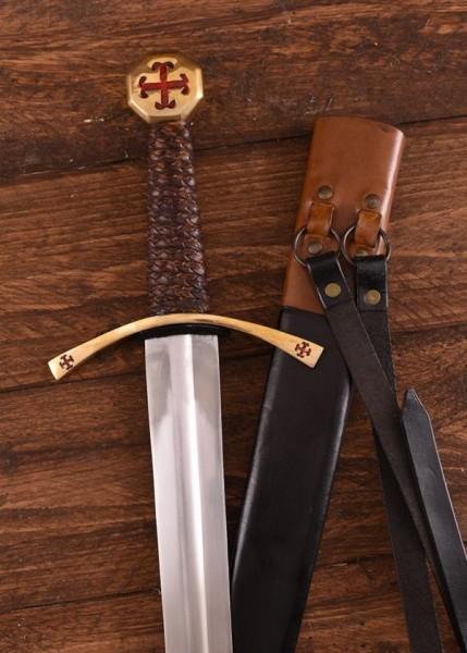 Kreuzfahrerschwert Sigmund - Dekoration