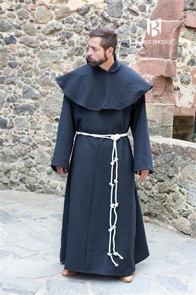 Mittelalter Mönchskutte Benediktus von Burgschneider