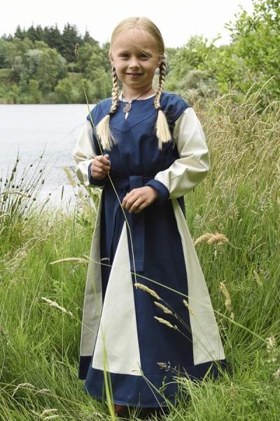 1280010550c_kleid_wikingerkleid_maedchenkleid_dress_child_mittelalter_blau_natur