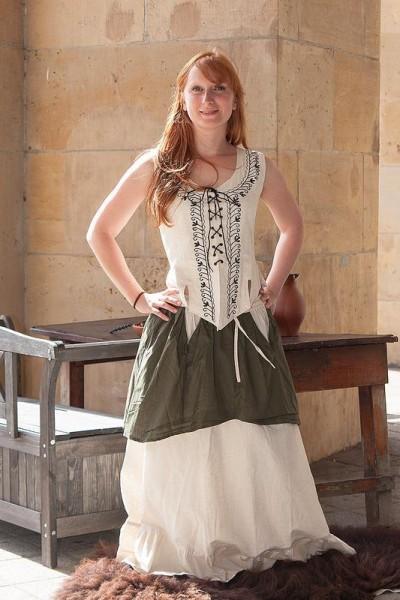 Mittelalter Miederweste Natalie