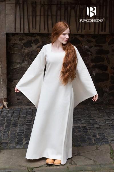 Mittelalter Unterkleid Klara mit Trompetenärmel von Burgschneider
