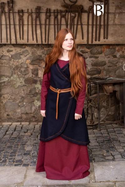 Wickelkleid Myrana aus Wolle von Burgschneider