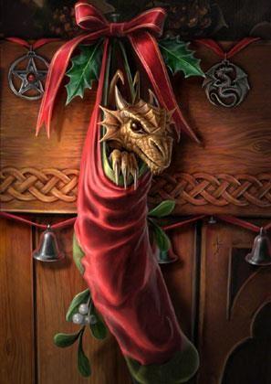 Grusskarte - Magische Ankunft