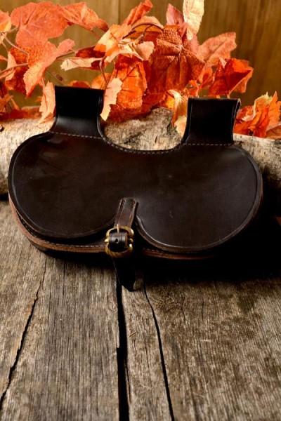 Mittelalter Nierentasche aus Leder