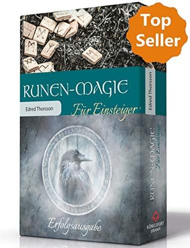 Runen-Magie für Einsteiger: Set mit Buch und Holzrunen von Edred Thorsson