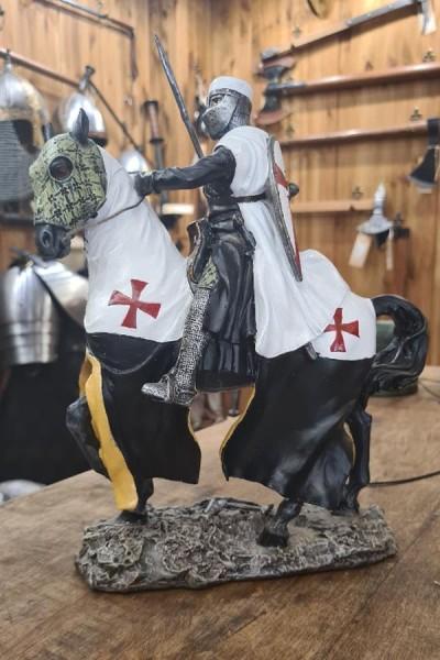 Templer Sergeant auf Pferd - Dekoration