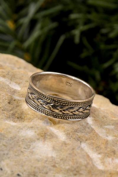 Wikinger Prachtring Askold aus Silber