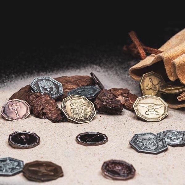LARP Münzen Set Zwerge