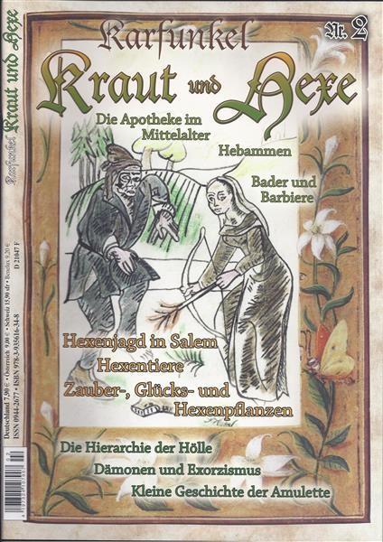 Karfunkel Kraut und Hexe Nr. 2 Die Apotheke im Mittelalter