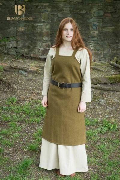 Wikinger Überkleid Jodis aus Wolle von Burgschneider