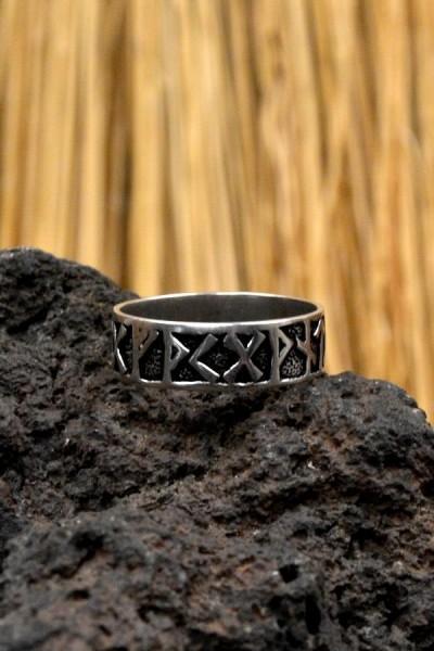 Wikinger Runenring aus Silber