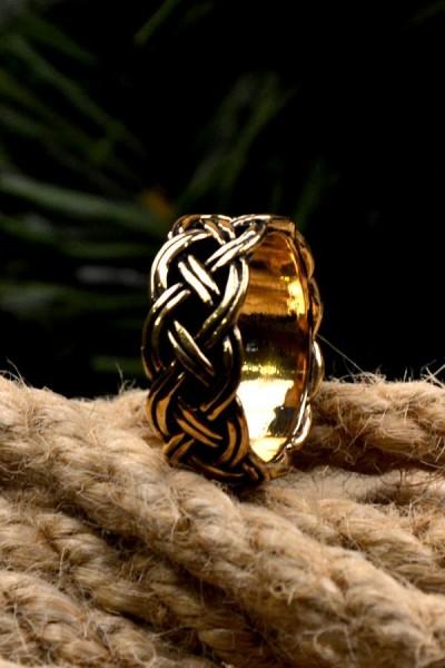 Wikinger Ring Sigurd aus Bronze