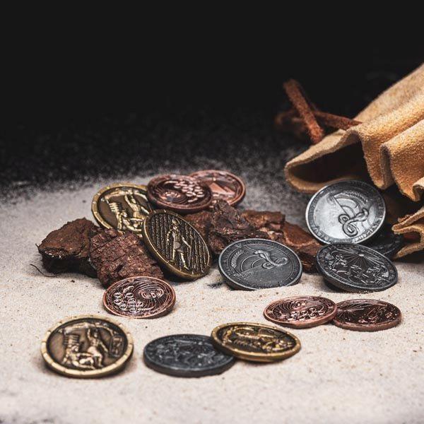 LARP Münzen Set Ägypter
