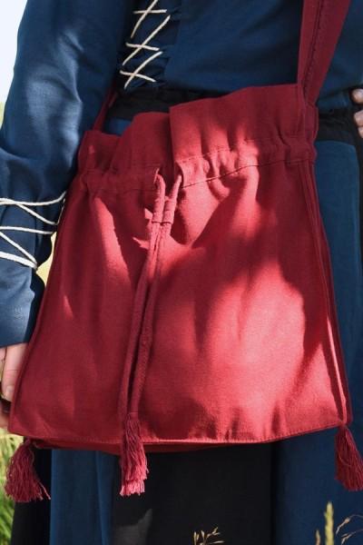 Mittelalter Pilgertasche aus Segeltuch