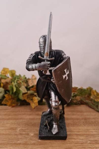 Johanniter Ritter auf Kreuzzug - handbemalt