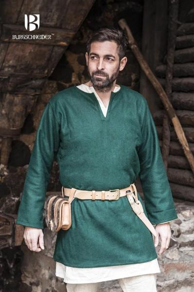 Wikinger Tunika Lodin aus Wolle von Burgschneider