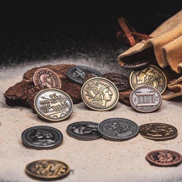 LARP Münzen Set Römer