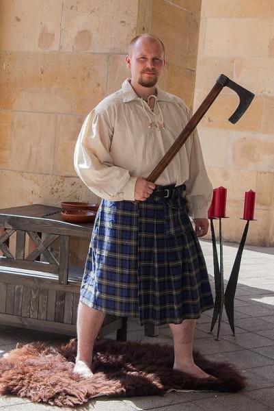 Mittelalter Schottenrock Connor