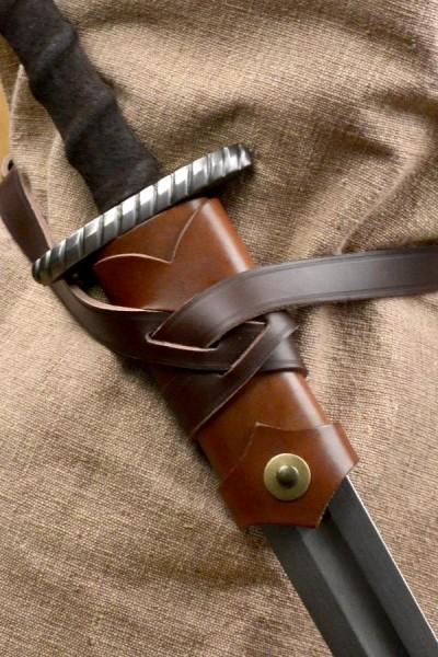 Wikinger Schwertgürtel Björn aus Leder