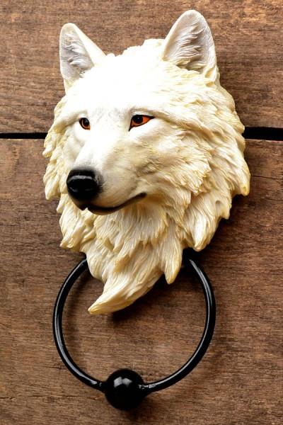 Türklopfer Wolfskopf - Wächter des Nordens