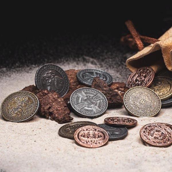 LARP Münzen Set Erde