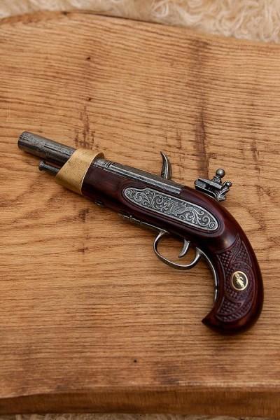 Steinschloßpistole Clarence - Dekoration